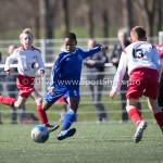 25-03-2017: Voetbal: Almere City FC O13 v de Foresters O13: Almere Ghillian Ilaria (Almere City FC O13) Seizoen 2016 / 2017