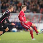 31-03-2017: Voetbal: Almere City FC v Telstar: Almere (L-R) Donny van Iperen (SC Telstar), Jeffrey Rijsdijk (Almere City FC) Jupiler League 2016 / 2017