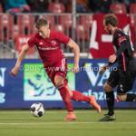 31-03-2017: Voetbal: Almere City FC v Telstar: Almere (L-R) Rick ten Voorde (Almere City FC), Frank Korpershoek (SC Telstar) Jupiler League 2016 / 2017