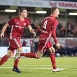 31-03-2017: Voetbal: Almere City FC v Telstar: Almere (L-R) Damon Mirani (Almere City FC), Lars Nieuwpoort (Almere City FC) Jupiler League 2016 / 2017