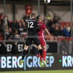 31-03-2017: Voetbal: Almere City FC v Telstar: Almere (L-R) Donny van Iperen (SC Telstar), Sherjill Mac-Donalds (Almere City FC) Jupiler League 2016 / 2017
