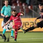 31-03-2017: Voetbal: Almere City FC v Telstar: Almere (L-R) Soufyan Ahannach (Almere City FC), Naoyuki Yamazaki (SC Telstar) Jupiler League 2016 / 2017