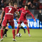31-03-2017: Voetbal: Almere City FC v Telstar: Almere Gaston Salasiwa (Almere City FC) Jupiler League 2016 / 2017