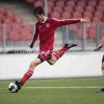 01-04-2017: Voetbal: Almere City FC O19 v NAC O19: Almere Adrian Ramadani (Almere City FC O19) Seizoen 2016 /2017