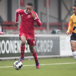 01-04-2017: Voetbal: Almere City FC O19 v NAC O19: Almere Ritchie Zinga (Almere City FC O19) Seizoen 2016 /2017