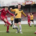 01-04-2017: Voetbal: Almere City FC O19 v NAC O19: Almere Jeffrey O'Brien (Almere City FC O19) Seizoen 2016 /2017