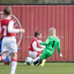 08-04-2017: Voetbal: Almere City FC O11 v MVV O11: Almere Rens Hut (Almere City FC O11) Seizoen 2016 /2017