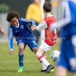 08-04-2017: Voetbal: Almere City FC O11 v MVV O11: Almere Timothy Muller (Almere City FC O11) Seizoen 2016 /2017