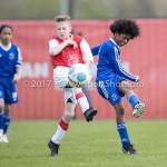 08-04-2017: Voetbal: Almere City FC O11 v MVV O11: Almere Eliyah Concencion (Almere City FC O11) Seizoen 2016 /2017