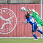 08-04-2017: Voetbal: Almere City FC O11 v MVV O11: Almere (L-R) Donovan Vijent (Almere City FC O11), Rens Hut (Almere City FC O11) Seizoen 2016 /2017