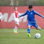 08-04-2017: Voetbal: Almere City FC O11 v MVV O11: Almere Maher Kaluf (Almere City FC O11) Seizoen 2016 /2017