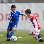 08-04-2017: Voetbal: Almere City FC O11 v MVV O11: Almere Melih Saygi (Almere City FC O11) Seizoen 2016 /2017