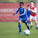 08-04-2017: Voetbal: Almere City FC O11 v MVV O11: Almere Joel (Almere City FC O11) Seizoen 2016 /2017