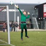 08-04-2017: Voetbal: Almere City FC O11 v MVV O11: Almere Seizoen 2016 /2017
