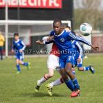 08-04-2017: Voetbal: Almere City FC O11 v MVV O11: Almere Martin Sherif (Almere City FC O11) Seizoen 2016 /2017