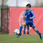 08-04-2017: Voetbal: Almere City FC O11 v MVV O11: Almere Mehran Afzalyar (Almere City FC O11) Seizoen 2016 /2017