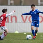 08-04-2017: Voetbal: Almere City FC O11 v MVV O11: Almere Christian de Roo (Almere City FC O11) Seizoen 2016 /2017