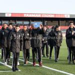 14-04-2017: Voetbal: Almere City FC v Jong FC Utrecht: Almere Huldiging Almere City FC O13 Jupiler League 2016 / 2017