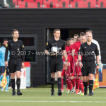 14-04-2017: Voetbal: Almere City FC v Jong FC Utrecht: Almere Sander van der Eijk (Scheidsrechter) Jupiler League 2016 / 2017