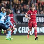 14-04-2017: Voetbal: Almere City FC v Jong FC Utrecht: Almere Rick ten Voorde (Almere City FC) Jupiler League 2016 / 2017