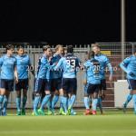 14-04-2017: Voetbal: Almere City FC v Jong FC Utrecht: Almere Jupiler League 2016 / 2017