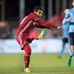 14-04-2017: Voetbal: Almere City FC v Jong FC Utrecht: Almere Yener Arica (Almere City FC) Jupiler League 2016 / 2017
