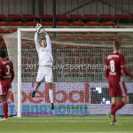 14-04-2017: Voetbal: Almere City FC v Jong FC Utrecht: Almere Chiel Kramer (Almere City FC) Jupiler League 2016 / 2017