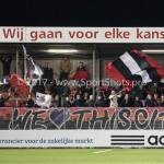 14-04-2017: Voetbal: Almere City FC v Jong FC Utrecht: Almere Supporters Jupiler League 2016 / 2017