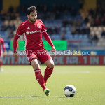 17-04-2017: Voetbal: RKC Waalwijk v Almere City FC: Waalwijk Yener Arica (Almere City FC) Jupiler League 2016 / 2017