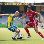 17-04-2017: Voetbal: RKC Waalwijk v Almere City FC: Waalwijk (L-R) Steef Nieuwendaal (RKC Waalwijk), Sherjill Mac-Donalds (Almere City FC) Jupiler League 2016 / 2017