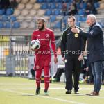 17-04-2017: Voetbal: RKC Waalwijk v Almere City FC: Waalwijk (L-R) Soufyan Ahannach (Almere City FC), Jack de Gier - Technisch manager/Hoofdtrainer (Almere City FC) Jupiler League 2016 / 2017