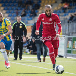 17-04-2017: Voetbal: RKC Waalwijk v Almere City FC: Waalwijk (L-R) Mohamed Mezghrani (RKC Waalwijk), Soufyan Ahannach (Almere City FC) Jupiler League 2016 / 2017