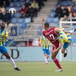 17-04-2017: Voetbal: RKC Waalwijk v Almere City FC: Waalwijk (L-R) Sherjill Mac-Donalds (Almere City FC), Steef Nieuwendaal (RKC Waalwijk) Jupiler League 2016 / 2017