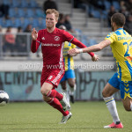 17-04-2017: Voetbal: RKC Waalwijk v Almere City FC: Waalwijk (L-R) Jeffrey Rijsdijk (Almere City FC), Mohamed Mezghrani (RKC Waalwijk) Jupiler League 2016 / 2017