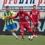 17-04-2017: Voetbal: RKC Waalwijk v Almere City FC: Waalwijk (L-R) Kenny Anderson (RKC Waalwijk), Soufyan Ahannach (Almere City FC) Jupiler League 2016 / 2017