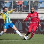 17-04-2017: Voetbal: RKC Waalwijk v Almere City FC: Waalwijk (L-R) Vlatko Lazic (RKC Waalwijk), Soufyan Ahannach (Almere City FC) Jupiler League 2016 / 2017