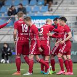17-04-2017: Voetbal: RKC Waalwijk v Almere City FC: Waalwijk Almere City FC celebrating 1 - 0 Jupiler League 2016 / 2017
