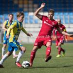 17-04-2017: Voetbal: RKC Waalwijk v Almere City FC: Waalwijk (L-R) Daan Rienstra (RKC Waalwijk), Rick ten Voorde (Almere City FC) Jupiler League 2016 / 2017