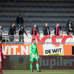 17-04-2017: Voetbal: RKC Waalwijk v Almere City FC: Waalwijk Supporters Almere City FC Jupiler League 2016 / 2017