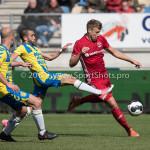 17-04-2017: Voetbal: RKC Waalwijk v Almere City FC: Waalwijk (L-R) Mohamed Mezghrani (RKC Waalwijk), Rick ten Voorde (Almere City FC) Jupiler League 2016 / 2017