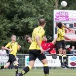 11-07-2017: Voetbal: OFC v Almere City FC: Oostzaan (L-R) Sven Braken (Almere City FC), Henry Opoku (OFC) Oefenduel 2017 / 2018