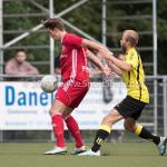 11-07-2017: Voetbal: OFC v Almere City FC: Oostzaan (L-R) Sven Braken (Almere City FC), Tom Noordhof (OFC) Oefenduel 2017 / 2018