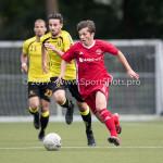 11-07-2017: Voetbal: OFC v Almere City FC: Oostzaan Charlie Teller (Almere City FC) Oefenduel 2017 / 2018