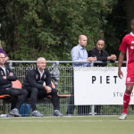 11-07-2017: Voetbal: OFC v Almere City FC: Oostzaan (L-R) Marco Heering - Assistent trainer (Almere City FC), Jack de Gier - Technisch manager/Hoofdtrainer (Almere City FC) Oefenduel 2017 / 2018