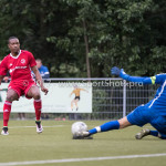 11-07-2017: Voetbal: OFC v Almere City FC: Oostzaan (L-R) Arsenio Valpoort (Almere City FC), Danny Been (OFC) Oefenduel 2017 / 2018