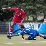 11-07-2017: Voetbal: OFC v Almere City FC: Oostzaan (L-R) Arsenio Valpoort (Almere City FC), Danny Been (OFC)÷j