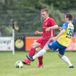 14-07-2017: Voetbal: SC Cambuur v Almere City FC: Leeuwarden (L-R) Damon Mirani (Almere City FC), Michal Janota (SC Cambuur) Oefenduel 2017 / 2018