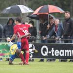 14-07-2017: Voetbal: SC Cambuur v Almere City FC: Leeuwarden (L-R) Alvin Daniels (SC Cambuur), Charlie Teller (Almere City FC) Oefenduel 2017 / 2018