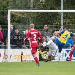 14-07-2017: Voetbal: SC Cambuur v Almere City FC: Leeuwarden (L-R)  Chiel Kramer (Almere City FC), Matthew Steenvoorden (SC Cambuur) Oefenduel 2017 / 2018