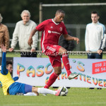 14-07-2017: Voetbal: SC Cambuur v Almere City FC: Leeuwarden (L-R) Stefano Lilipaly (SC Cambuur), Sherjill Mac-Donalds (Almere City FC) Oefenduel 2017 / 2018